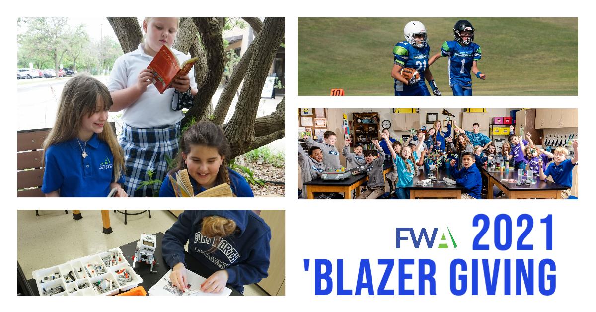Blazer Giving Fort Worth Academy Annual Fund